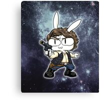 Bun Solo Galaxy ~ Star Wars Canvas Print
