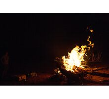 Indian Creek Fire Photographic Print