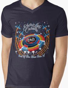E.L.O. Out of The BLUE TOUR Mens V-Neck T-Shirt