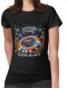 E.L.O. Out of The BLUE TOUR Womens Fitted T-Shirt