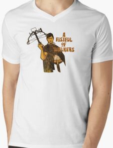 A Fistful of Walkers! Mens V-Neck T-Shirt
