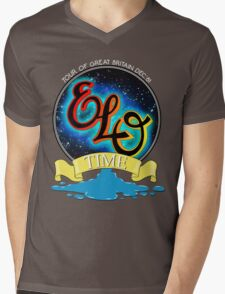 E.L.O. TIME TOUR 1981 Mens V-Neck T-Shirt