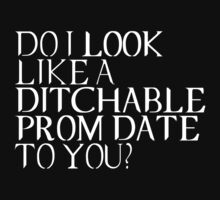 Ditchable Prom Date II by ashraae