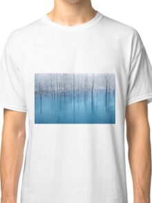 Lake With Frosty Trees Classic T-Shirt