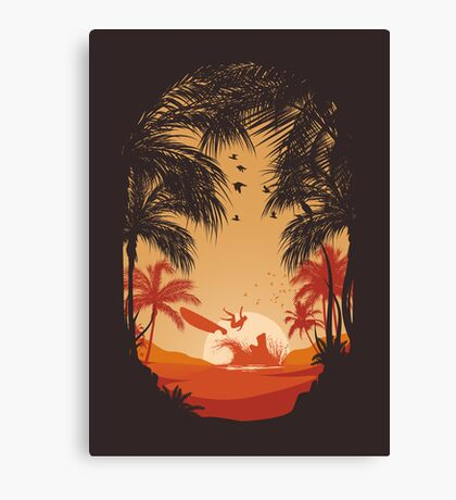 Summertime Madness Canvas Print