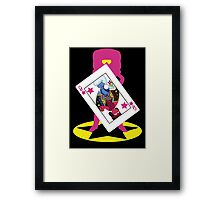 I am a conversation - V1 Framed Print