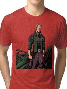 Jeremy Hunter Cover Stance Tri-blend T-Shirt