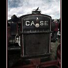 Case Tractor by Deborah McGrath