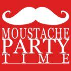Moustache Party by jeffroh2013