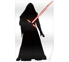 Kylo Ren Shadow Style Poster