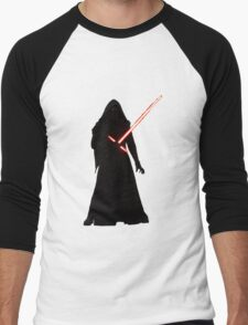 Kylo Ren Shadow Style Men's Baseball ¾ T-Shirt