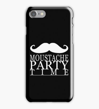 Moustache Party iPhone Case/Skin