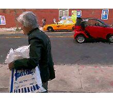 Primary streets  Photographic Print