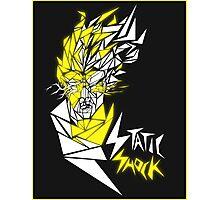 Static Shock Photographic Print