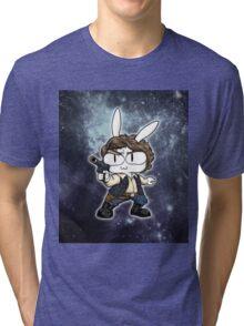 Bun Solo Galaxy ~ Star Wars Tri-blend T-Shirt