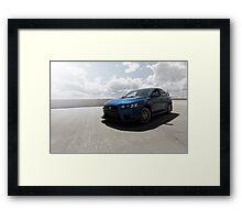 EVO X Framed Print