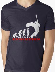 bass player, bass evolution Mens V-Neck T-Shirt