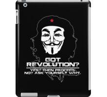 Got Revolution? FACE iPad Case/Skin