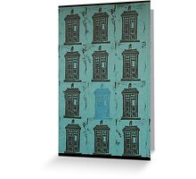 Tardis005 Greeting Card