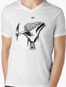 What the pervert saw Mens V-Neck T-Shirt