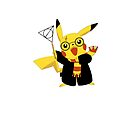 Pikachu Deathly Hallows iPhone Cover/Case by Harry Martin