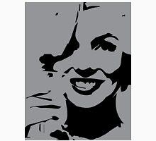 Marilyn Monroe Pop Art Gray Classic T-Shirt