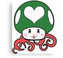 Kawaii 1UP Canvas Print