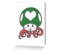 Kawaii 1UP Greeting Card