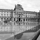 At the Louvre-Pavillon Sully by Rosalee Lustig