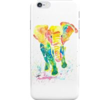 Elephant Watercolor iPhone Case/Skin