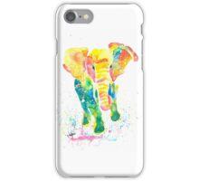 Elephant Watercolor iPhone Case/Skin