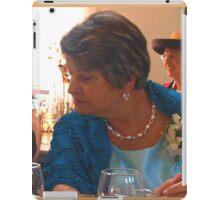 Proud mom of the groom iPad Case/Skin