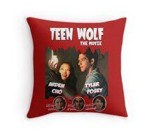 Teen Wolf Old Comic [Scott & Kira] Throw Pillow