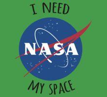 I Need My Space (NASA) Kids Tee