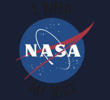 I Need My Space (NASA) One Piece - Short Sleeve