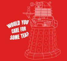 Dalek Cuppa Baby Tee