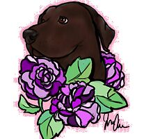 Lavender Lab by CrowleyPants