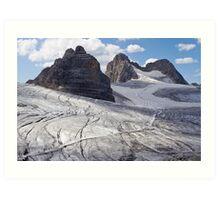Dachstein glaciers I Art Print