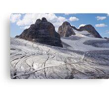 Dachstein glaciers I Canvas Print