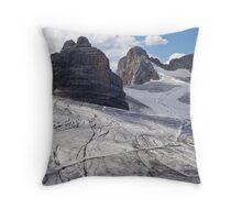 Dachstein glaciers I Throw Pillow