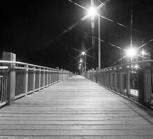 Footbridge At Tooradin by mattsavage
