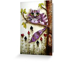 The Cheshire Cat Greeting Card
