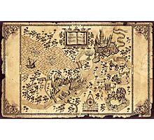 La Mappa del Malandrino Photographic Print