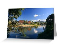 Autumn in Murwillumbah... Greeting Card