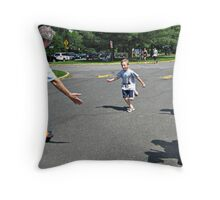 I Finished the Race! Throw Pillow
