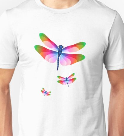 Paper Craft Dragonfly Unisex T-Shirt