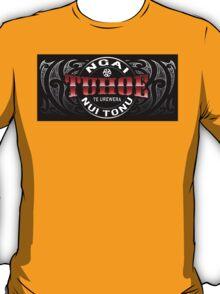 Tuhoe Lifer moko Red chrome T-Shirt