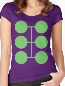Multiple Man Women's Fitted Scoop T-Shirt
