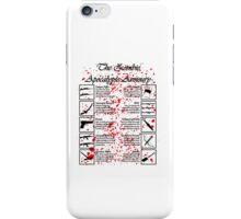 Zombie Apocalypse Armoury  iPhone Case/Skin