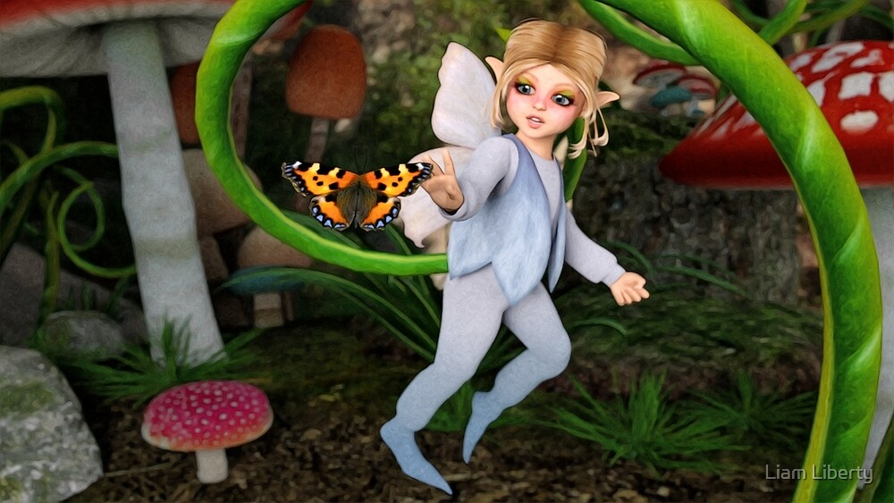 The Curious Faerie by Liam Liberty